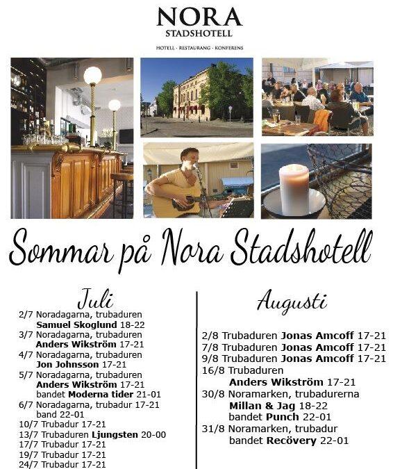 Sommar på Nora Stadshotell